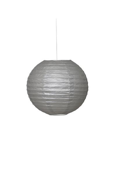 Silver Paper Lantern