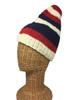 """Freeman"" cap, hand knit 100% wool"