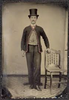 19th century image of man wearing sweater