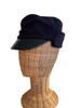 Winter cap with cotton ties instead