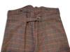 Men's trousers, back detail