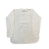 Cotton pleated front dress shirt