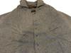 Civilian overcoat cape detail