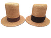 Straw top hats
