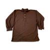 Dark brown wool flannel shirt