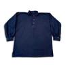 Navy wool flannel shirt