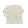 """Cotton/Linen """"on the square"""" shirt"""