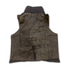 Early 19th century double breasted waistcoat/vest rear view