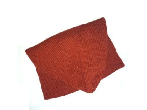 Machault Cap in Madder (rust) red