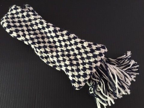 Our reproduction hand knit woolen scarf