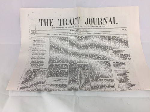The Tract Journal, November 1862