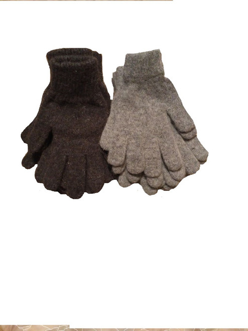 "Men's knit ""driving"" gloves"