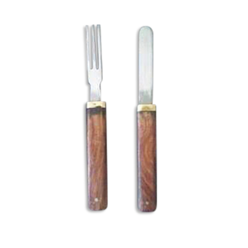 Sheath Knife and Fork Combo