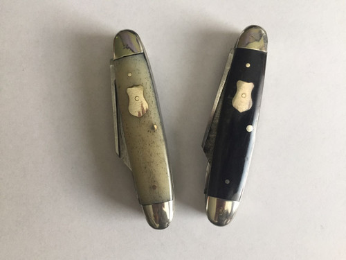 19th century pocket knife, bone and horn handle