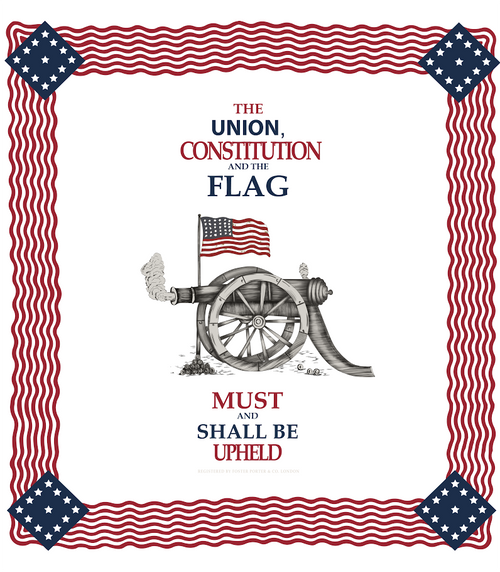 Union Constitution and Flag Hanky