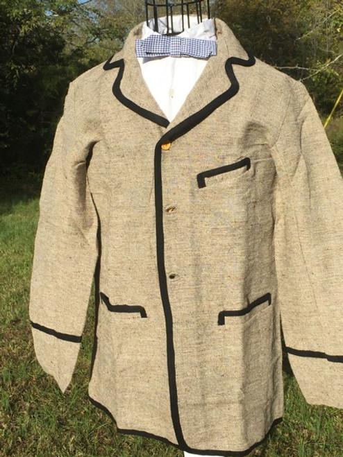 19th Century Civilian Sack Coat - trimmed