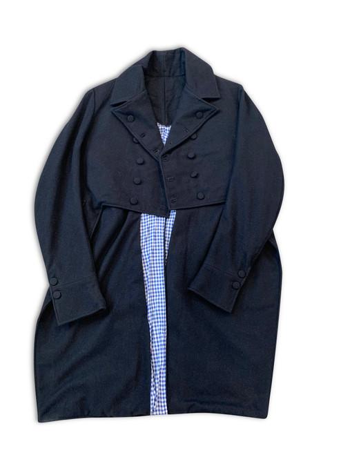 Tail coat detail