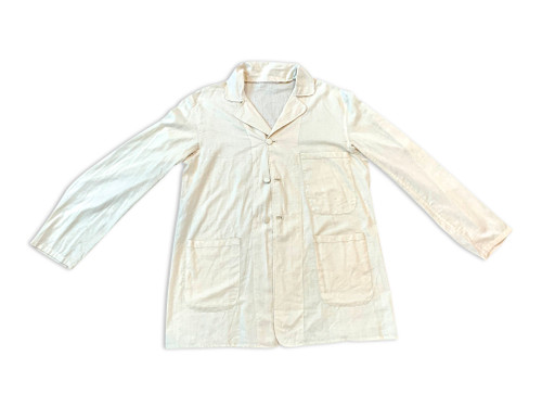 "Cotton ""linen"" look sack coat"