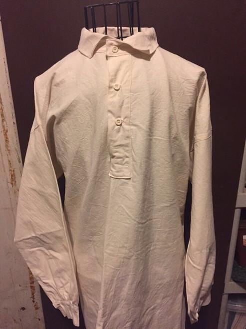 "Osnaburg Cotton or ""CS Issue"" Style Shirt"