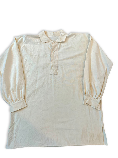 "Osnaburg Cotton Workman's or ""CS Issue"" Style Shirt"