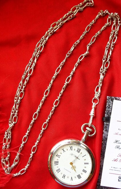 Loop watch chain for our reproduction pocket watches