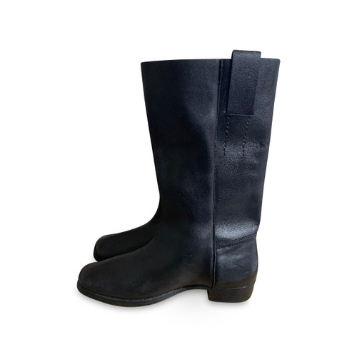 Side view of boots