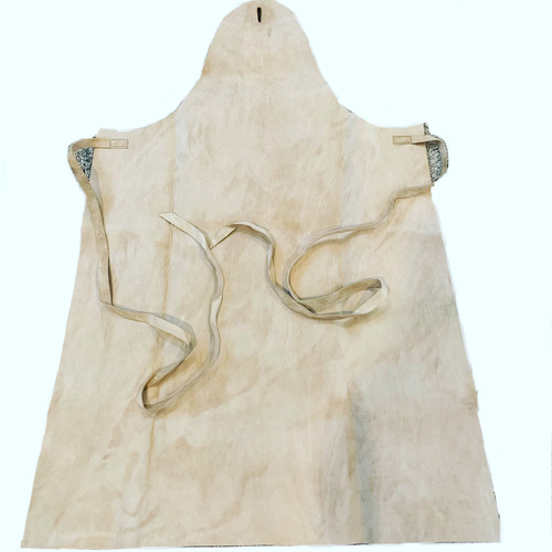 Sheepskin Apron with top buttonhole