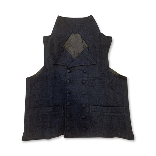 Early 19th century double breasted waistcoat/vest front view