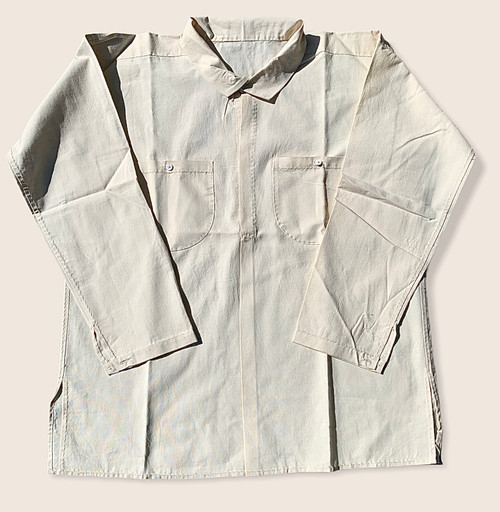 Confederate Style Shirt with Pockets - all visible stitching by hand