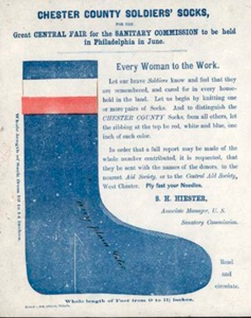 Original circular for making the socks