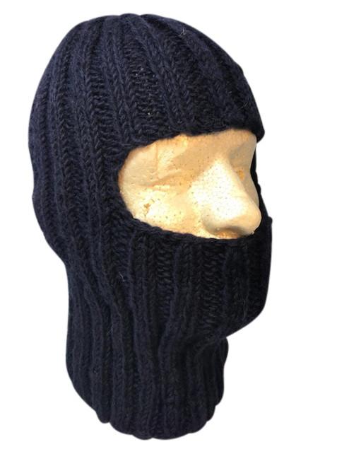 Hand knit balaclava