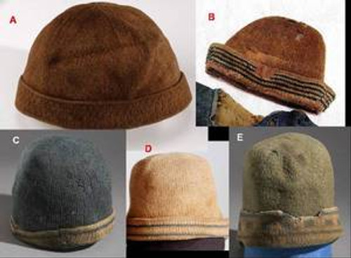 Styles of Dutch Knit Hats available