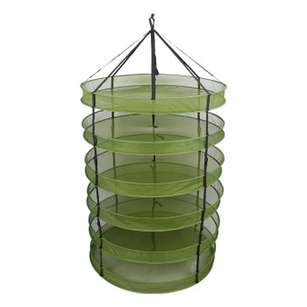 3' Drying Rack w/Clip on Levels
