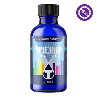 True Terpenes Durban Poison Profile 15ml