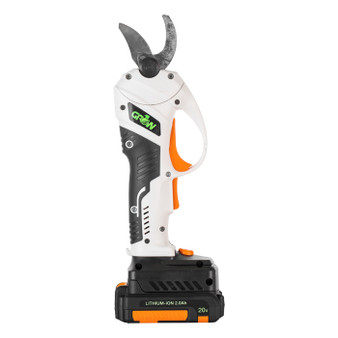 """GROW1 20V DC Electronic Cordless Pruning Shears 1"""" Cutting Diameter  w/ 2 Batteries + Charger"""