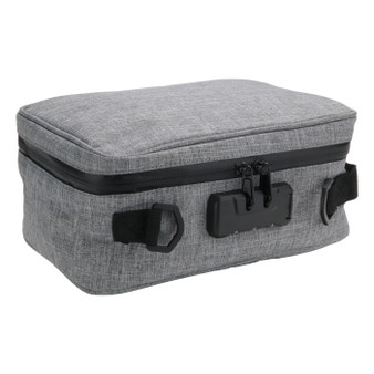Funk Fighter Lockable Stash Carrying Case - Gray