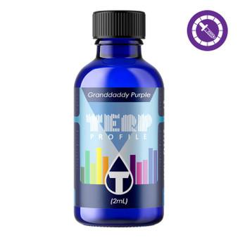 True Terpenes Granddaddy Purple Profile 2ml