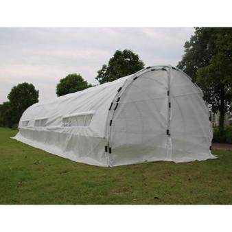 GROW1 Heavy Duty Greenhouse Hoop House (32'x10'x6.5')