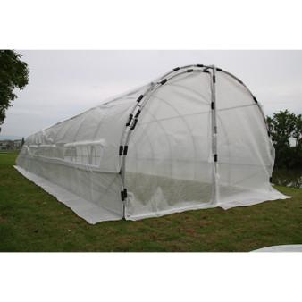 GROW1 Heavy Duty Greenhouse Hoop House (40'x10'x6.5')