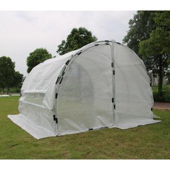 GROW1 Heavy Duty Greenhouse Hoop House (10'x10'x6.5')