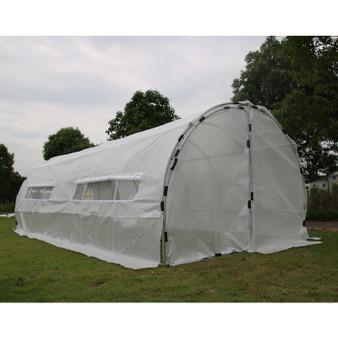 GROW1 Heavy Duty Greenhouse Hoop House (20'x10'x6.5')