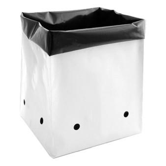 7 Gal B&W PE Grow Bag (25-pack)
