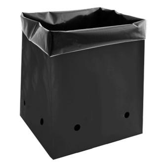 7 Gal Black PE Grow Bag (25-pack)