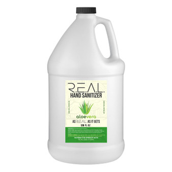 R.E.A.L Liquid Hand Sanitizer 1 Gallon