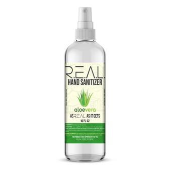 R.E.A.L Hand Sanitizer 16oz (limited supplies)