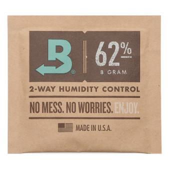 Boveda 62% RH 8g Bulk (Unwrapped) - 300/case