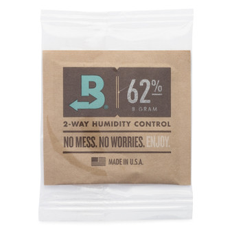 Boveda 62% RH 8g Bulk (Individually Wrapped) - 300/case