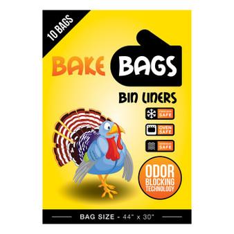 Bake Bags Bin Liners 44'' W x 30'' H (10/Pack)