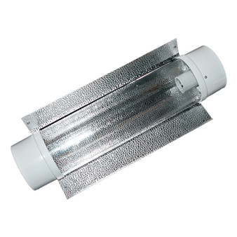 6'' Air-Cooled Tube Reflector w/ exterior reflective wing