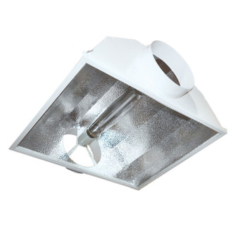 6'' Hinged Air-Cooled Reflector w/ flip open glass